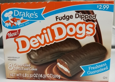 Fudge Dipped Devil Dogs